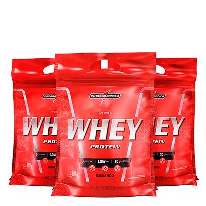 Kit Nutri Whey Protein 3x 907 g Refi – IntegralMédica