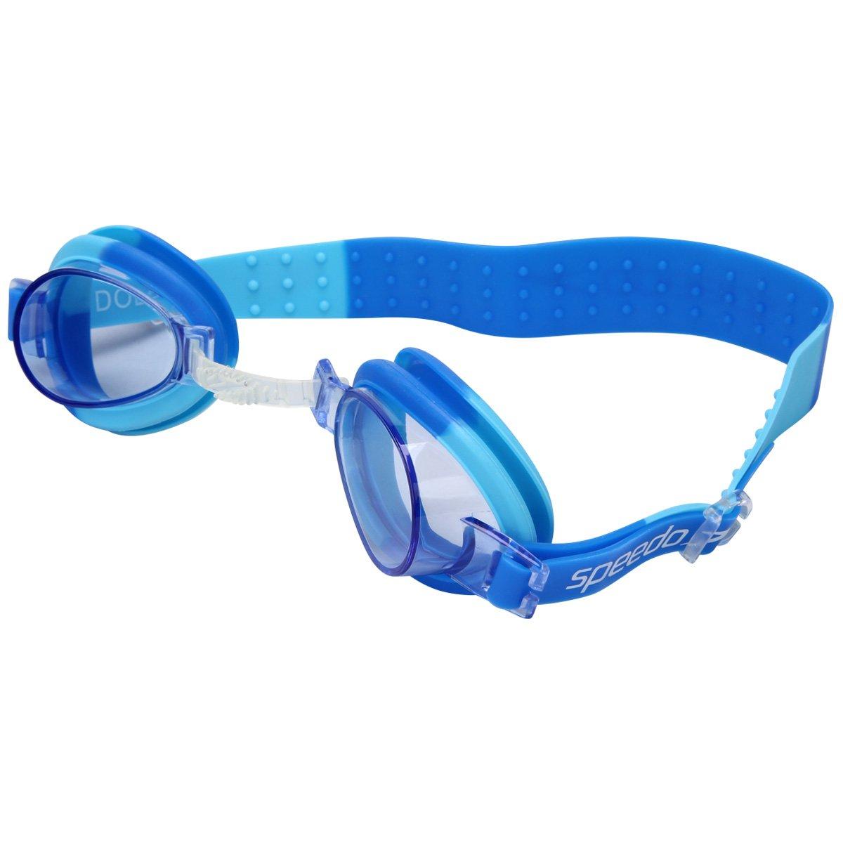 Kit Óculos + Touca Fish Combo - Speedo - Amarelo e Azul - Compre ... 33da066d1f448
