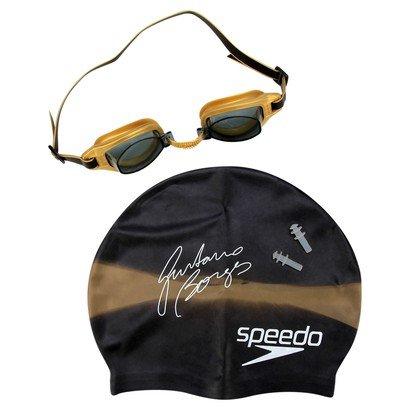 Kit Óculos + Touca Speedo + Protetor de Ouvido Swim Kit 3.0 - Unissex