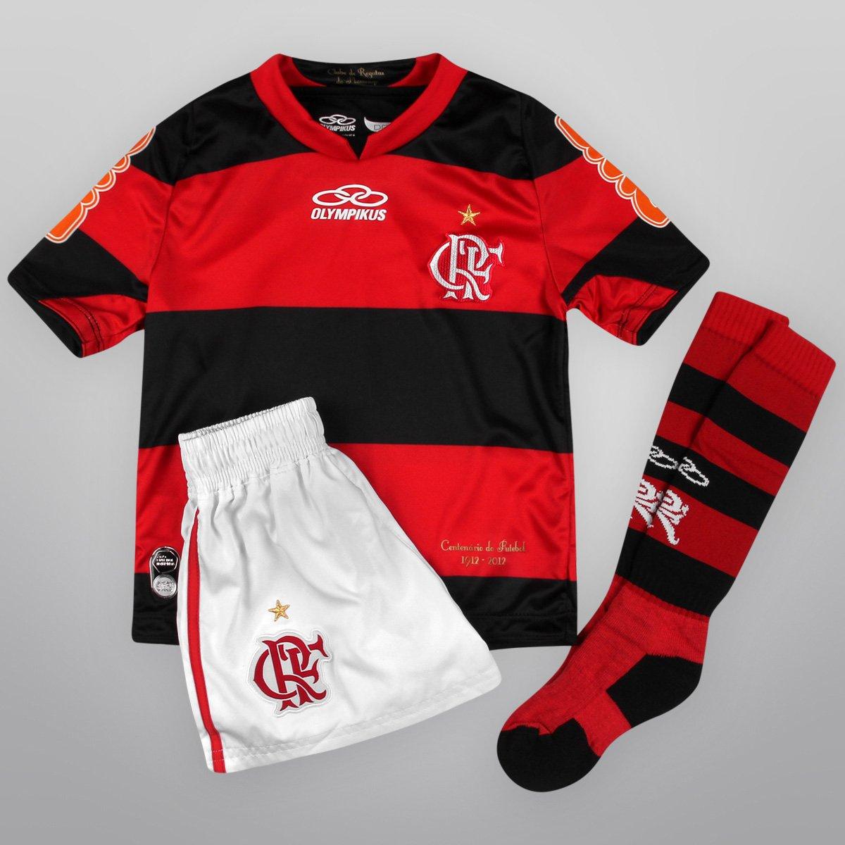 Kit Olympikus Flamengo I 2012 s nº Infantil - Compre Agora  a7e85bffe1049