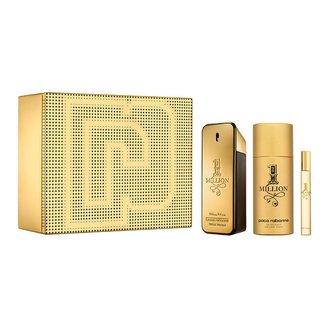 Kit Paco Rabanne 1 Million Perfume Masculino EDT + Desodorante + Miniatura