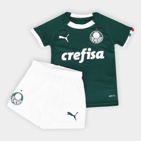 Kit Palmeiras I Infantil 19/20 - Torcedor Puma - Verde