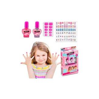 Kit Para Decorar Unhas Infantil Makebrinq - Mk05 - Polibrinq