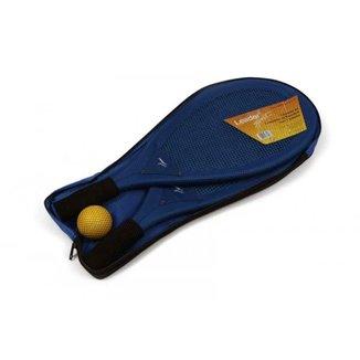 Kit para Frescobol com 2 Raquetes e 1 Bolinha