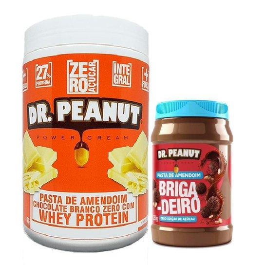Kit Pasta De Amendoim 1Kg +Pasta de Amendoim 350g Dr. Peanut -