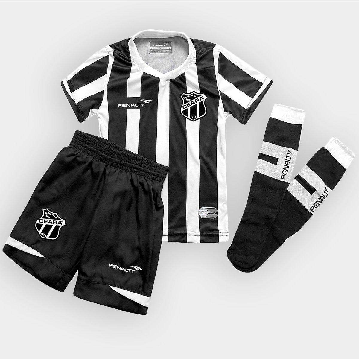 Kit Penalty Ceará I 2015 nº 10 Infantil - Compre Agora  c90e47d0a5bce