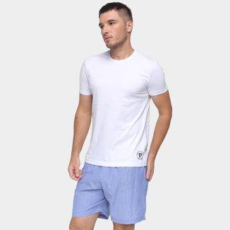 Kit Pijama Masculino Pierre Cardin 2 Camisetas
