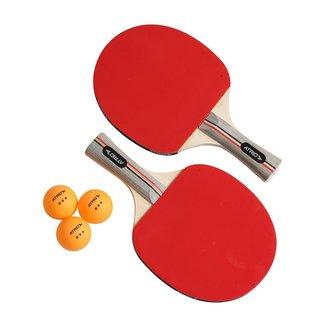 Kit Ping Pong Raquetes E Bolas Atrio - ES389