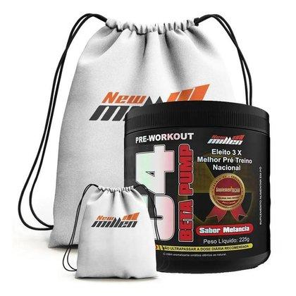 Kit Pre Treino C4 Beta Pump + Mochila - New Millen (Melancia)