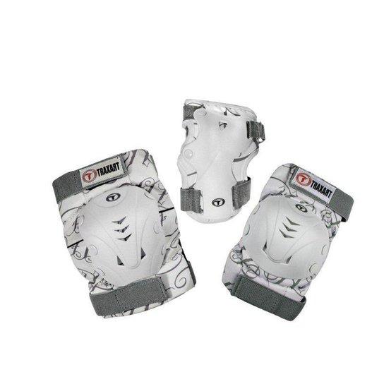 Kit Proteção Traxart Branco - DK-619 - Branco+Cinza
