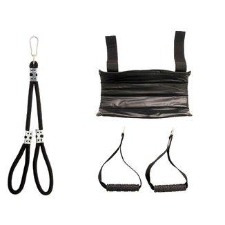 Kit Protetor De Barra Puxador Tríceps Corda Puxador Lateral Cross Over Musculação Treino