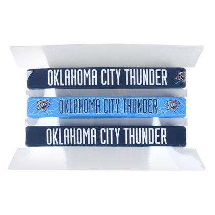 Kit Pulseira NBA Oklahoma City Thunder c/ 3 Unidades