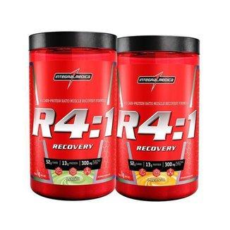 Kit R4:1 Recovery Powder Limão e Laranja 1kg - Integralmedica