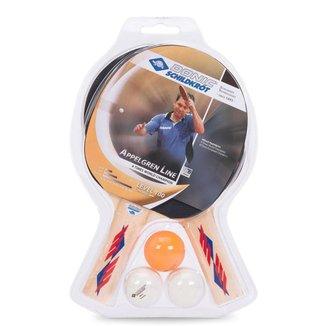 Kit Raquete de Tênis de Mesa Donic Appelgren 2 Player Set 100 - Unissex Único
