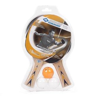 Kit Raquete de Tênis de Mesa Donic Appelgren 2 Player Set 300 - Unissex Único
