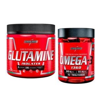 Kit Reforço Imunidade Glutamina e Ômega 3 - Integralmedica