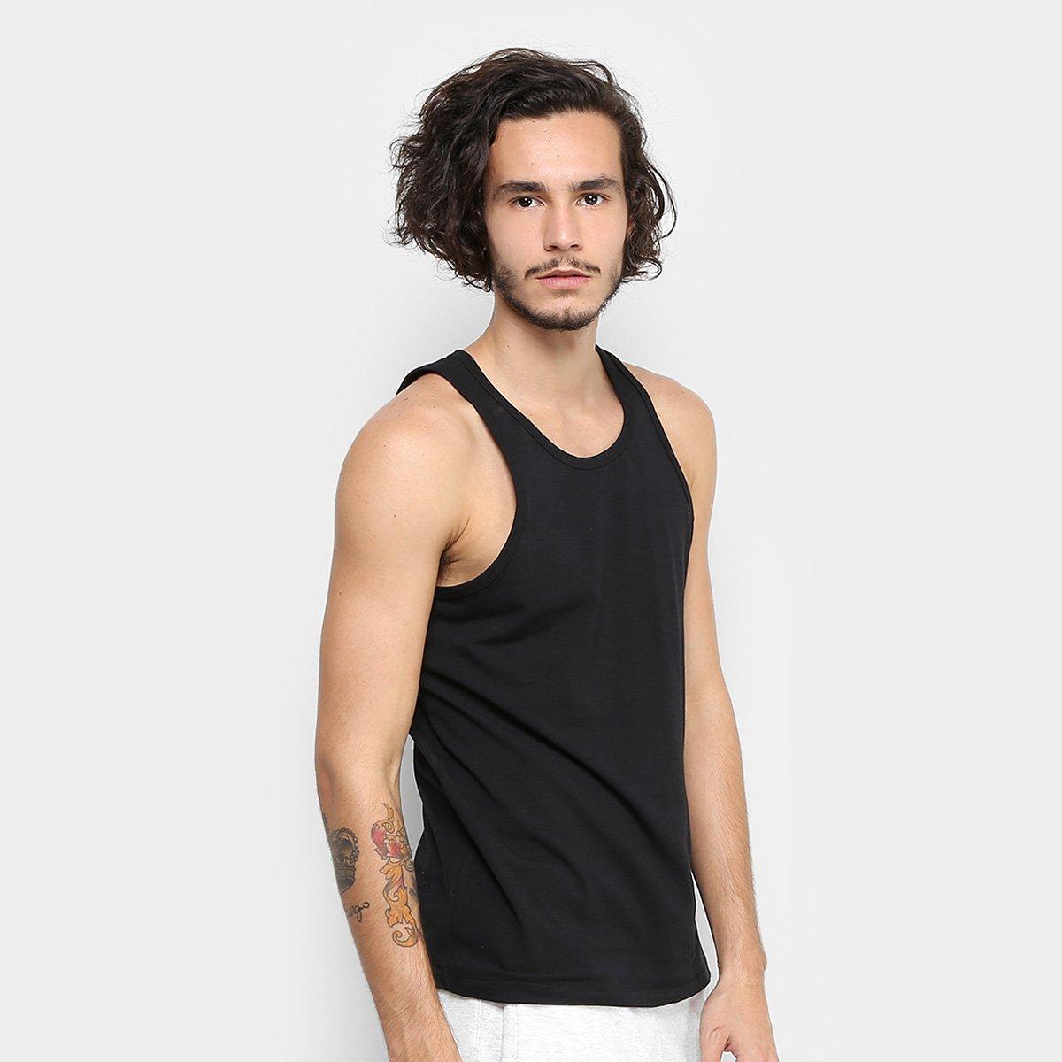 bd57b06e2f2b4 Kit Regatas Calvin Klein 2 Peças Masculina - Compre Agora