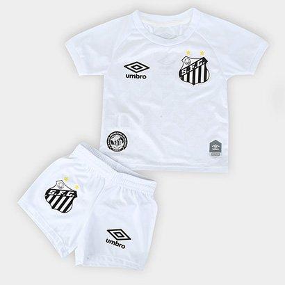 Kit Santos Infantil I 20/21 s/n° Torcedor Umbro - Unissex