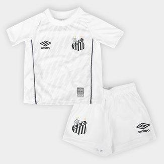 Kit Santos Infantil I 21/22 s/n° Torcedor Umbro