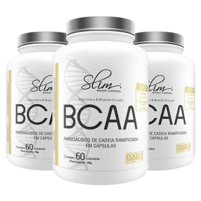 Kit Slim 3 BCAA 60 caps – Slim