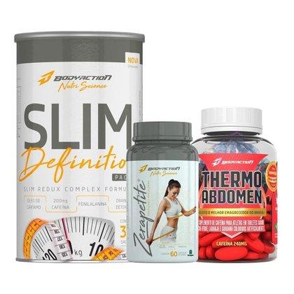 Kit Slim Definition + Thermo Abdomen + Zerapetite Bodyaction