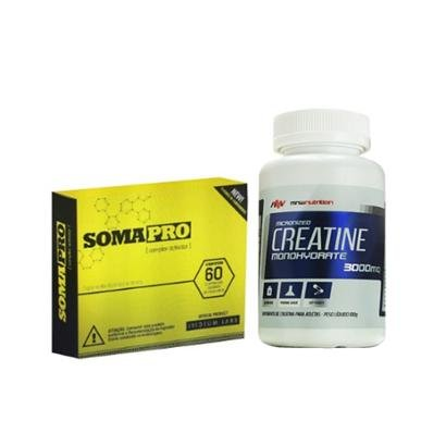 Kit SomaPro 60 cápsulas – Iridium Labs + Creatina 100gr – MNW Nutrition