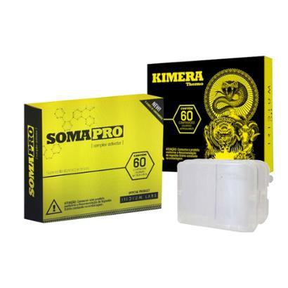 Kit Somapro 60 Comp. + Kimera 60 Comp + Porta Cápsula