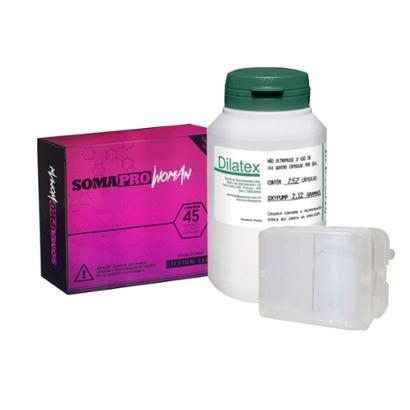 Kit Somapro Woman 45 Comp. + Dilatex 152 Cáps - Power Supplements + Porta Cápsula