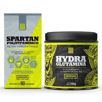 Kit Spartan Polivitaminico + Glutamina 150g