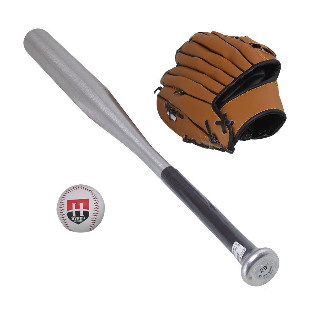 Kit Taco De Baseball Alumínio 1 Bola 1 Luva - Compre Agora  5230192b9bafc