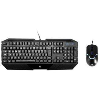 Kit Teclado e Mouse Gamer HP GK1000