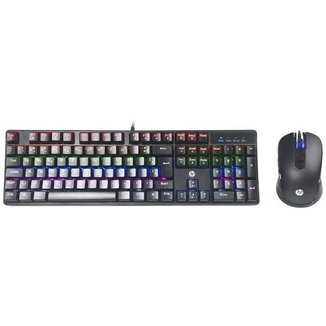 Kit Teclado e Mouse Gamer HP GM200