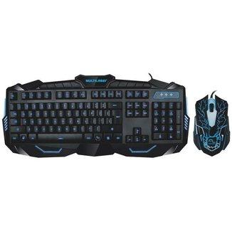 Kit Teclado e Mouse Gamer Lightning