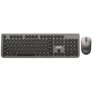 Kit Teclado e Mouse sem Fio OEX