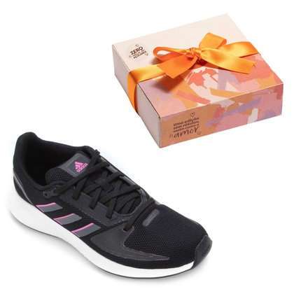 Kit Tênis Adidas Runfalcon 2.0 Feminino + Caixa de Bombom c/ 9 unidades