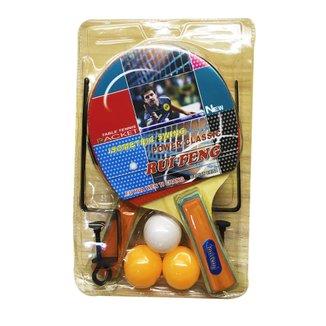 Kit Tênis de Mesa com Rede e Suporte