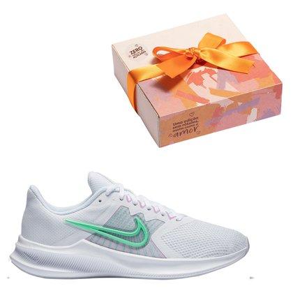 Kit Tênis Nike Downshifter 11 Feminino + Caixa de Bombomc/ 9 unidades