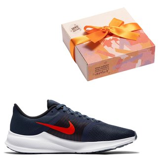 Kit Tênis Nike Downshifter 11 Masculino + Caixa de Bombom c/ 9 unidades