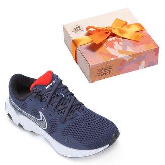 Kit Tênis Nike Renew Ride 2 Masculino + Caixa de Bombom c/ 9 unidades