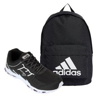 Kit Tênis Tryon Tauri Masculino + Mochila Adidas Classic