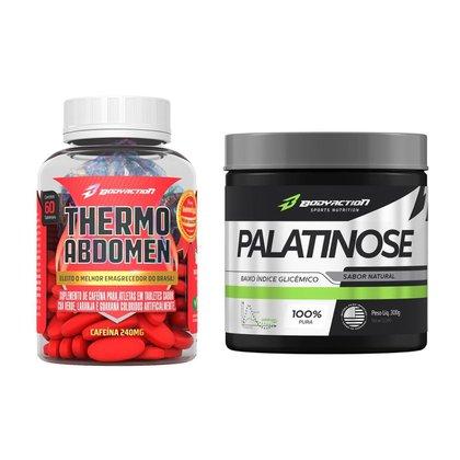 Kit Termogênico Thermo Abdomen + Palatinose 300g - Body Action