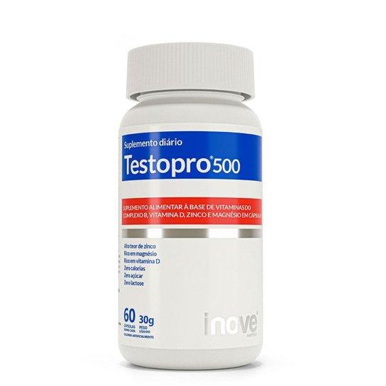 Kit Testopro® 500 Fórmula Masculina – Inove Nutrition® – 3 potes c/ 60 cápsulas cada -
