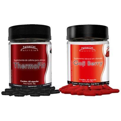 Kit ThermoFit 60 Cápsulas c/ Goji Berry 60 Cápsulas – Nitech Nutrition