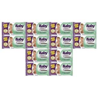 Kit Toalha Umedecida Baby Free 600 Unidades