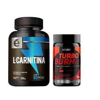 Kit Turbo Burn + L-Carnitina - Ekobé