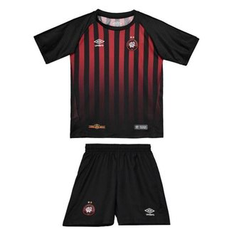 Kit Umbro Atlético Paranaense I 2018 Infantil