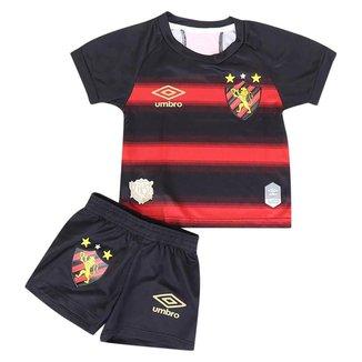 kit Umbro Sport Recife Oficial I 2020 Infantil -