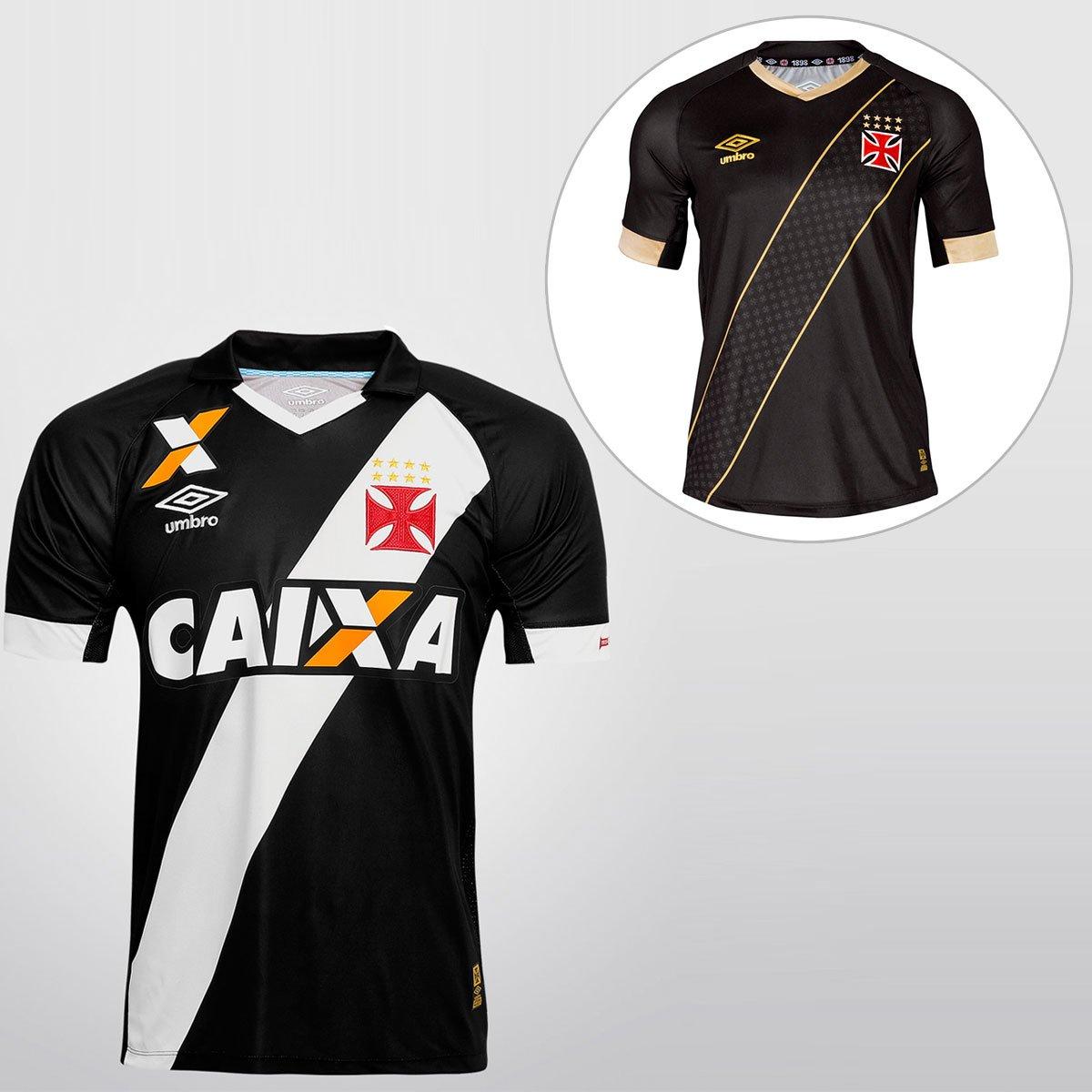 517e649da4 Kit Umbro Vasco - Camisa I 15 16 s nº + Camisa III 15 16 s nº - Compre  Agora