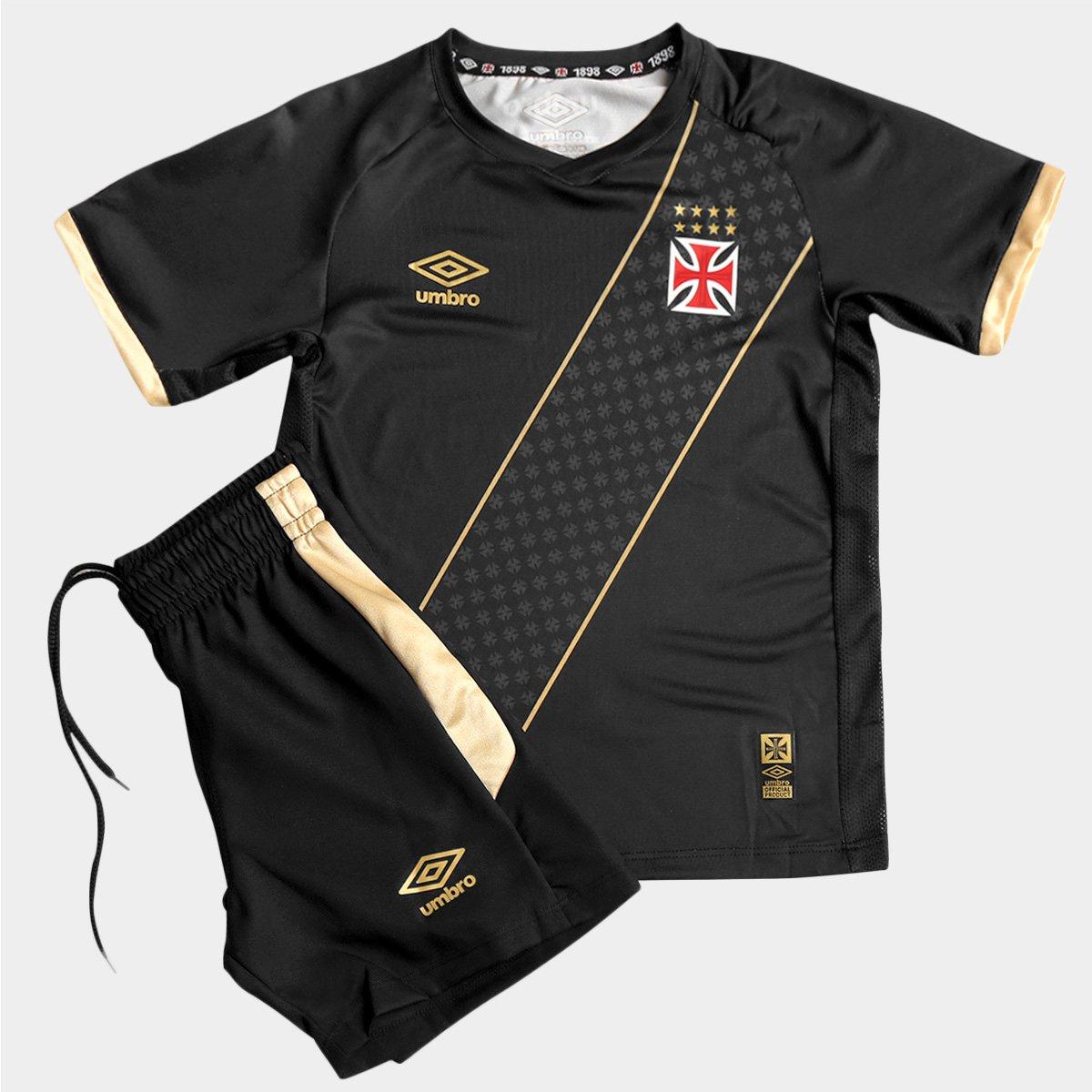 d98684500f Kit Umbro Vasco III 2015 Infantil - Compre Agora