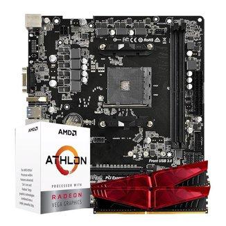 Kit Upgrade, AMD ATHLON 3000G, A320M, 16GB DDR4